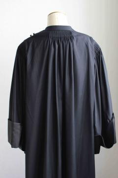 Robe d'avocat en mérino uniquement