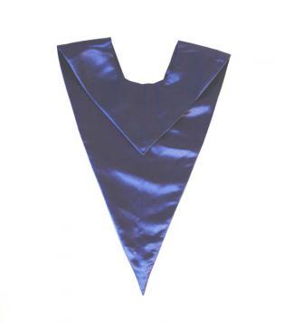 Echarpe en V - Bleu Roi