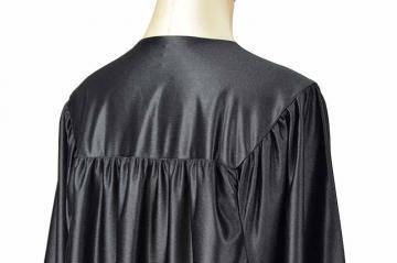 Toge Satinée noire dos