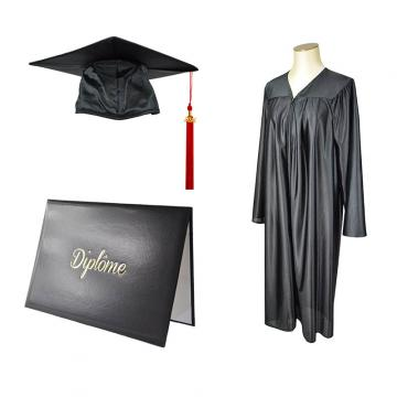 Tenue Satinée et Porte-diplôme