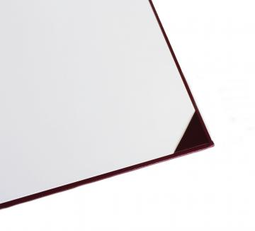 Premium Unmarked Diploma Cover 4 Corners - Maroon