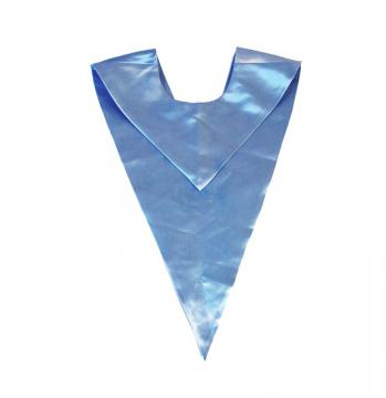 Echarpe en V - Bleu Ciel