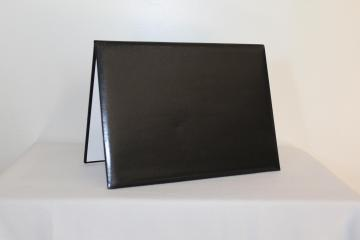 Premium Unmarked Diploma Cover 4 Corners - Black